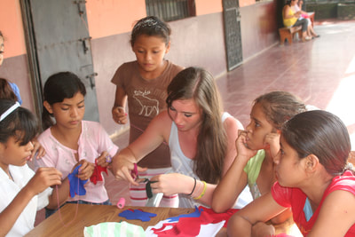 Youth community service and teacher led programs